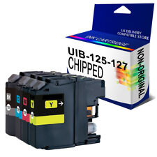 4 CHIPPED Ink Cartridge For DCP-J4110DW MFC-J4510DW MFC-J4710DW