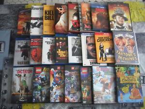 LOT 25 BLU RAY et dvd QUENTIN TARANTINO STANLEY KUBRICK lego star wars batman