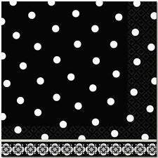 Damask & Dots Luncheon Napkins - Pack of 36