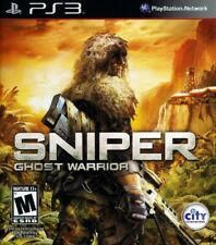 CIB Sniper Ghost Warrior Sony PlayStation 3 PS3 Mature Adult Shooter BLACK LABEL
