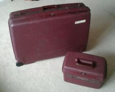 Plastic DELSEY Upright (2) Wheels Luggage