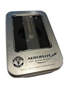BNIB Manchester United FC & Aeroflot USB Flash Drive - capacity 16 GB