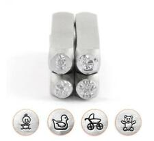 ImpressArt Baby Shower Celebration Collection, 6mm Metal Stamping Design Punches