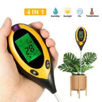 4 in 1 Bodentester Bodenmessgerät für Pflanzen Feuchtigkeit PH Wert Messgerät