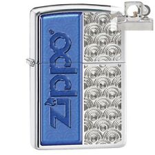 Zippo 28658 scallops with Lighter with PIPE INSERT PL