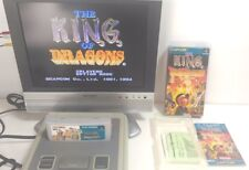 The King of Dragons Super Famicom SFC SNES Game Capcom Japan