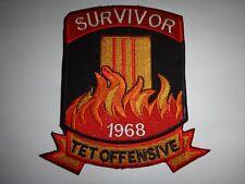 SURVIVOR 1968 TET OFFENSIVE Year Of The Monkey Vietnam War Patch