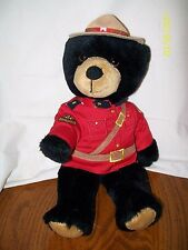RCMP Canadian Mounted Police Bear Plush 11""