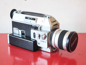 EXC+ Canon Auto Zoom 814 Super 8 film camera TESTED & WORKS FREE SHIPPNG WRLDWDE