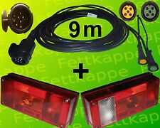 Aspöck Midipoint 1 - Leuchten Set - 13polig - 9m Kabelbaum mit 0,2 m Abgang
