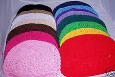 wholesale lot PICK 10 GIRLS holiday kufi CROCHET HATS add daisy or korker bow