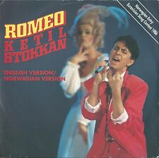 "Ketil Stokkan ""Romeo"" Eurovision Norway 1986 Norwegian and English version"