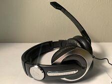 Sennheiser PC 333D G4ME PC Gaming Headphones w/Mic Black Needs New Cushions