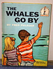 Vintage Book The Wales Go By - by Fred Phleger - 1959 Beginner Book Club Edition