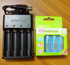 Kentl Aa 3000mWh 1.5 В перезаряжаемая литий литий-ионный аккумулятор Aa Usb реклама зарядное устройство Usb
