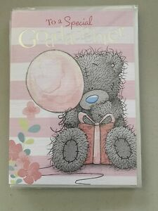 """Carte Blanche Greeting Card """"Birthday Goddaughter"""" Blue Nose Bear Brand New"""