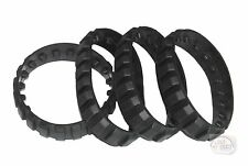 LEGO Technic - 4 x Small Treads - Black - New - (Track, Gear, EV3, NXT)