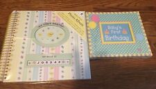 Baby's First Photo Unisex Includes 4 Photo Frames&Personalized Name Stickers New