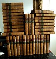 35vol/14€ Gravures MARILLIER Plein Veau Epoque - Œuvres de l'Abbé PREVOST, 1783