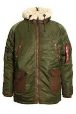 Nylon Alpha Coats & Jackets Parkas for Men