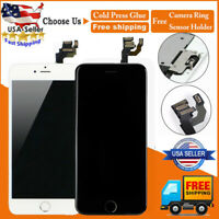 For iPhone 6 Plus Touch Screen Replacement LCD Digitizer+Button A1522 A1524 US