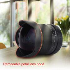 8mm f/3.5 Wide Angle Manua Fisheye Lens With Hood for Nikon DSLR Cameras