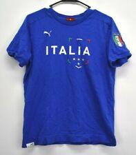 Puma Men's Small Short Sleeve Crew Neck Casual Wear Italia Graphic T-Shirt