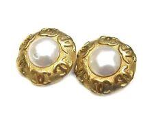 CHANEL Pearl Fashion Earrings