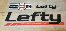 Sticker Decal Set for 2010 Cannondale Scalpel Flash Lefty PBR 100 SPEED Fork