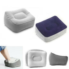 Travel Portable Footrest Pillow Plane Train Kids Bed Inflatable Foot Rest Pad