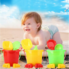 4pcs Beach Sand Tools Toys Bucket Set For Toddler Kids Children Outdoor Toys_NT