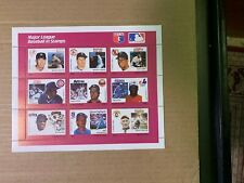 1987 1988 Grenada Major League Baseball Stamp Sheets Collection