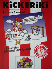 Programm 1995/96 SC Fortuna Köln - Arm. Bielefeld