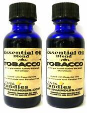Combo - Two Bottles of Tobacco 1 oz / 29.5 ml Glass Bottle - Premium Grade A Qua
