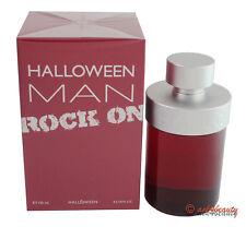 Halloween Men Rock On By J. Del Pozo 4.2oz/125ml Edt Spray For Men New In Box