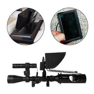 200M Infrared Night Vision Device LED Hunting Sniper Rifle Gun Optical Sight UK
