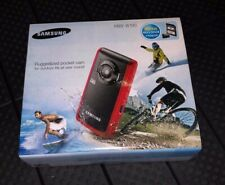 NEW Samsung HMX-W190 5.5MP HD Pocket Camcorder Red