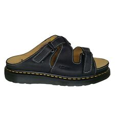 Dr. Martens Sandals Bradfield Rugged Leather Strap Mens Size 14 Black NEW