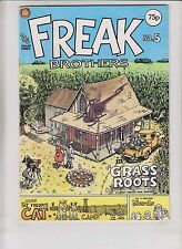 Freak Brothers #5 FN knockabout comics british import - gilbert shelton 1977 75p