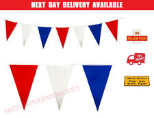 More details for 33 feet 20 flags multi colour banner bunting party home garden birthday banner