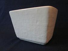 Window Box Planter! Vintage Hull Art pottery:Burlap texture: Excellent!
