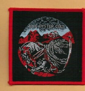 Blue Oyster Cult Reaper vintage 1970s SEW-ON PATCH