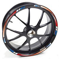 UKEN Sticker wheel Rim Yamaha YZF R 125 R125 Red Blue strip tape vinyl adhesive