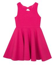 NWT RARE EDITIONS GIRLS FUCHSIA SKATER DRESS SIZE 6X MSRP $38.00