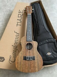 Concert Electro Acoustic ukulele in Ovangkol RRP £169 plus £30 padded gig bag