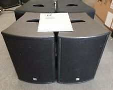 "HK Audio ""Pulsar"" PL110FA powered PA speakers, 2 x1000w,10"" speaker,+covers,used"