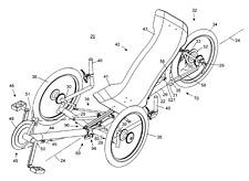 PLÄNE recumbent bicicleta triciclo triciclo três rodas recumbent recumbent
