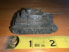 1940's Panzer Kw IV Authenticast Comet Metal 1/108