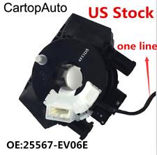 Spiral Cable Clock Spring Airbag SubAssy For NISSAN TIIDA 2006-2012 25567-EV06E