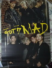 GOT7 Mini Album Mad 2015 Taiwan Promo Poster